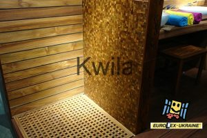 трапик для ванной из древесины тик